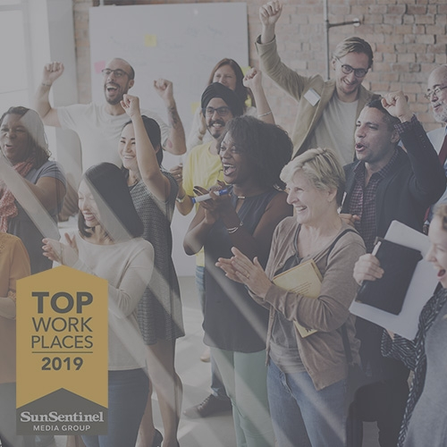 Arise Ranked in Top 20 of the Sun Sentinel South Florida 2019 Top Workplaces Award