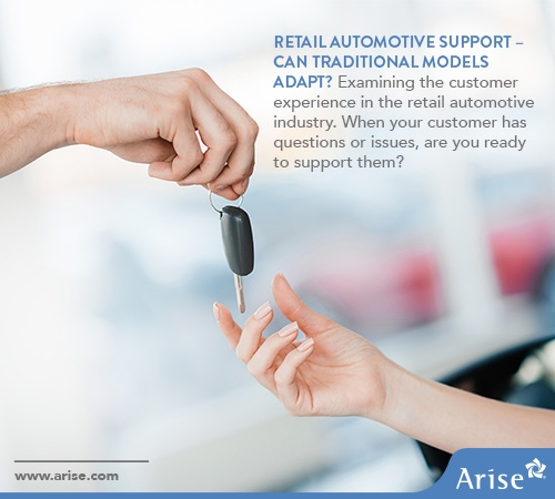 Retail Automotive Support: Can Traditional Approaches Adapt?