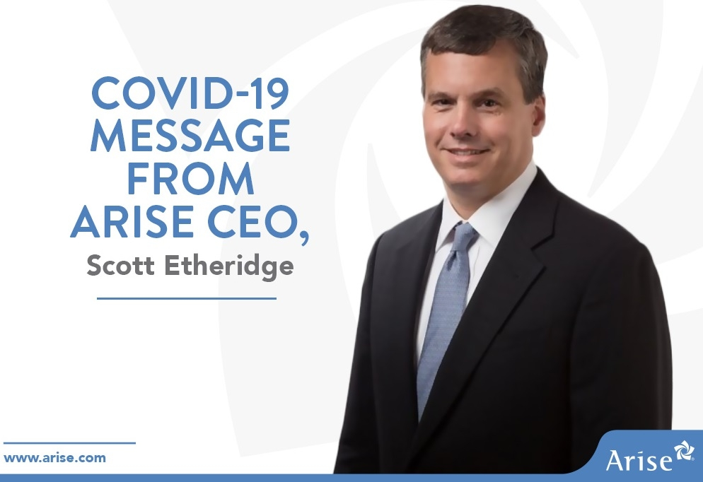 Scott Etheridge, CEO of Arise Virtual Solutions Inc.