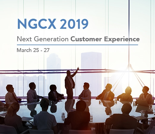 NGCX 2019 - Next Generation Customer Experience
