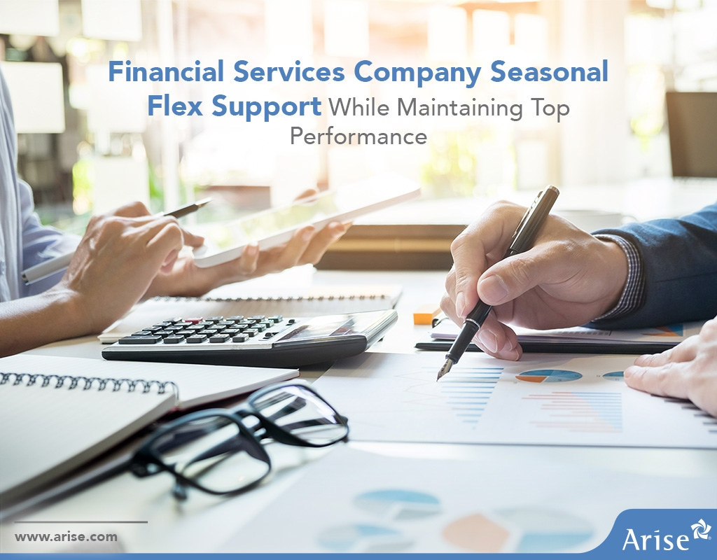 Financial Services Company Seasonal Flex Support While Maintaining Top Performance