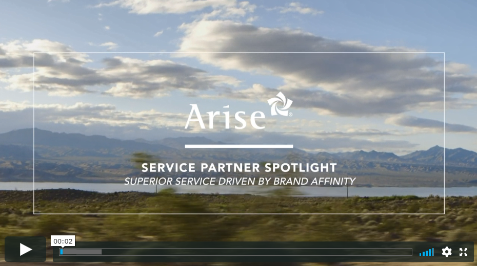Arise Service Partner Spotlight: Superior Service Driven By Brand Affinity