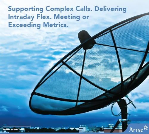 Arise Delivered Radical Flexibility for Intraday Call Volume While Ranking Top 2 Vendor for Telecommunications Company