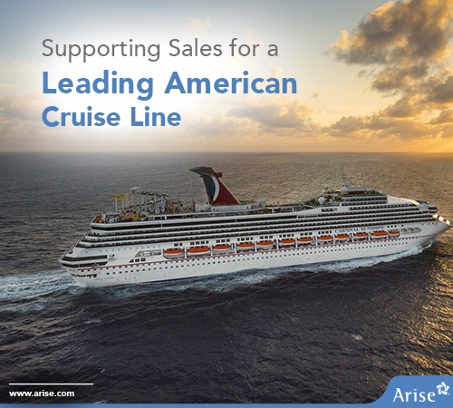 Supporting Sales for a Leading American Cruise Line