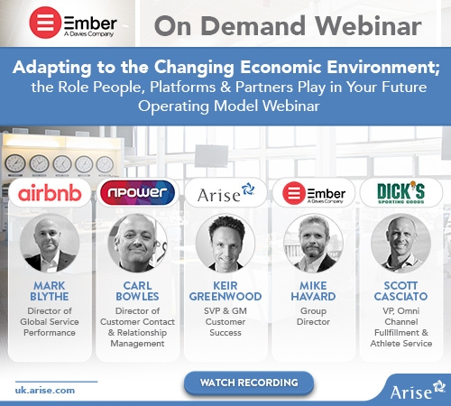 On Demand Webinar: Adapting to the Changing Economic Environment; the Role People, Platforms & Partners Play in Your Future Operating Model