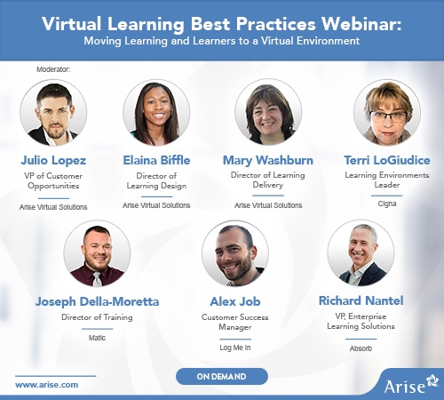 On-Demand Webinar: Virtual Learning Best Practices