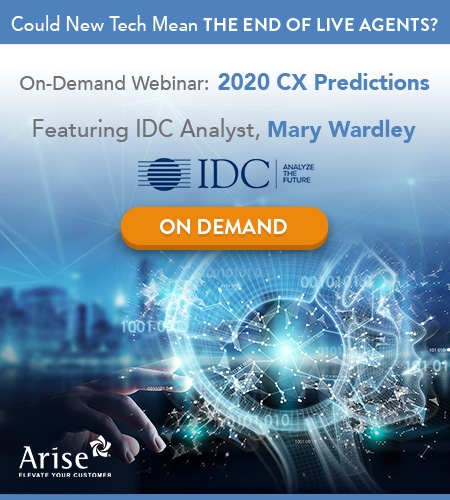 IDC 2020 CX Predictions: Could Technology Mean the End to Live Agents?
